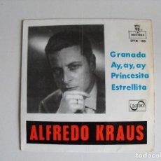 Discos de vinilo: ALFREDO KRAUS. GRANADA Y ... AÑOS 60.. Lote 292507943