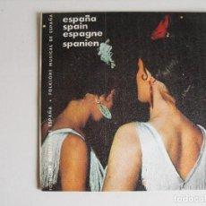 Discos de vinilo: ESPAÑA. DISCO DE PROMOCIÓN DEL MINISTERIO DE TURISMO. AÑOS 60.. Lote 292508048