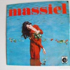Discos de vinilo: MASSIEL. ROSAS EN EL MAR. AÑOS 60.. Lote 292508753
