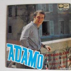 Discos de vinilo: ADAMO. EN BANDOLERA AÑOS 60.. Lote 292513273