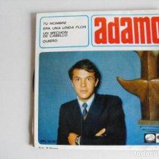 Discos de vinilo: ADAMO. TU NOMBRE. AÑOS 60.. Lote 292513398