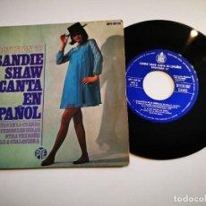 Discos de vinilo: SANDIE SHAW MARIONETAS EN LA CUERDA CANTA EN ESPAÑOL EUROVISION INGLATERRA 1967 EP VINILO ESPAÑA. Lote 292514048