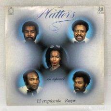 Discos de vinilo: SINGLE PLATTERS - EL CREPÚSCULO / ROGAR - ESPAÑA - AÑO 1982. Lote 292530668