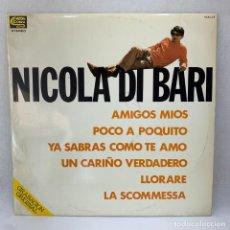 Discos de vinil: LP - VINILO NICOLA DI BARI - NICOLA DI BARI - ESPAÑA - AÑO 1978. Lote 292545358