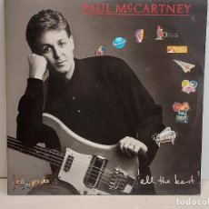 Discos de vinilo: PAUL MC CARTNEY / ALL THE BEST / DOBLE LP-GATEFOLD - EMI-SPAIN-1987 / MBC. ***/*** INSERTOS. Lote 292558993