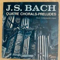Discos de vinilo: BACH - PRELUDES CHORALS. Lote 292615103