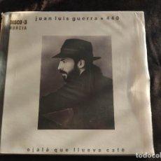 Discos de vinilo: LP VINILO JUAN LUIS GUERRA 440 OJALÁ QUE LLUEVA CAFÉ N.36. Lote 292946953