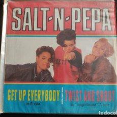 Discos de vinilo: SALT-N-PEPA* – GET UP EVERYBODY / TWIST AND SHOUT N.54. Lote 292953533