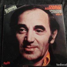 Discos de vinil: CHARLES AZNAVOUR - FRANCES VOL. 1 - MADE IN SPAIN 1981 N.60. Lote 292954848