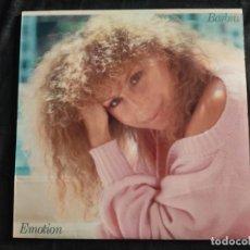 Discos de vinilo: LP BARBRA STREISAND EMOTION BUEN ESTADO GENERAL 1984 N.63. Lote 292955423