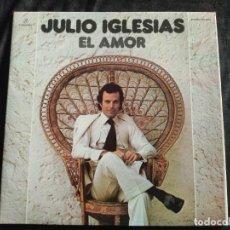 Discos de vinil: LP-JULIO IGLESIAS-EL AMOR- AÑO 1975 N.72. Lote 292958778