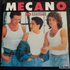 """Discos de vinilo: LP DOBLE """"20 GRANDES CANCIONES"""" DE MECANO N.76. Lote 292959473"""