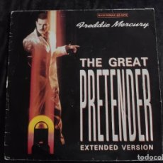 Discos de vinilo: FREDDIE MERCURY - THE GREAT PRETENDER EXTENDED VERSION N.83. Lote 292960818