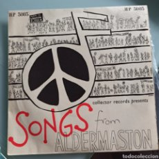 Discos de vinilo: LONDON YOUTH CHOIR - SONGS FROM ALDERMASTON (COLLECTOR RECORDS, UK, 1960). Lote 293161953