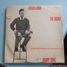 Discos de vinilo: ALEX WELSH & HIS BAND - DIXIELAND TO DUKE (PYE NIXA,UK, 1957). Lote 293163788