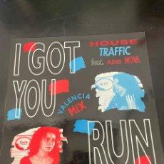 Discos de vinilo: I GOT YOU RUN. Lote 293169488