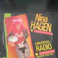 Discos de vinilo: NINA HAGEN. Lote 293170418