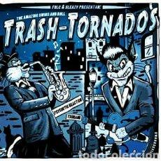 Discos de vinilo: TRASH-TORNADOS-THE AMAZING SWING AND ROLL . SINGLE 7 PULGADAS PRECINTADO. Lote 293174468