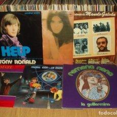 Discos de vinilo: LOTE 20 LP'S SOLISTAS ESPAÑOLES 60/70 (NINO BRAVO, JANNETTE, LORENZO SANTAMARIA ETC... Lote 293177773
