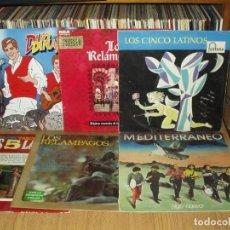 Discos de vinilo: LOTE 18 LP'S GRUPOS ESPAÑOLES 60/70 (SANTABARBARA, PEKENIKES, DUO DINAMICO,RELAMPAGOS.. ETC. Lote 293178368