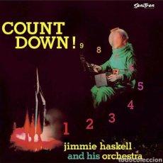 Discos de vinilo: JIMMIE HASKELL AND HIS ORCHESTRA–COUNT DOWN! . PRECINTADO. Lote 293181813