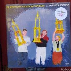 Discos de vinilo: EL MATÓ A UN POLICÍA MOTORIZADO–LA DINASTÍA SCORPIO. LP VINILO PRECINTADO EDICION ESPECIAL COLOR. Lote 293188003