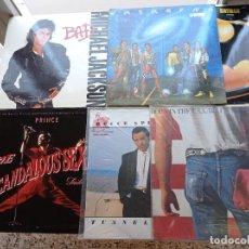 Discos de vinilo: LOTE DE 6 DISCOS DE VINILO DE M.JACKSON, B.SPRINGSTEN Y PRINCE DE 33 RPM. Lote 293204568