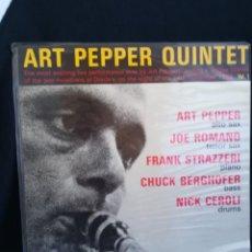 Discos de vinilo: LP ART PEPPER QUINTET - LIVE AT DONTE'S VOL. 1, 1987 ESPAÑA, IMPECABLE. Lote 293205058