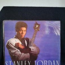 Discos de vinilo: LP STANLEY JORDAN - FLYING HOME (LP, ALBUM), 1988 ESPAÑA, COMO NUEVO!!. Lote 293207648