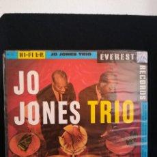 Discos de vinilo: LP THE JO JONES TRIO - JO JONES TRIO, ESPAÑA 1988, NUEVO!!!. Lote 293209573