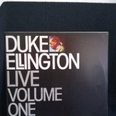 Discos de vinilo: LP DUKE ELLINGTON - LIVE VOLUME ONE (LP, ALBUM), 1980 ESPAÑA, IMPECABLE!!. Lote 293210733