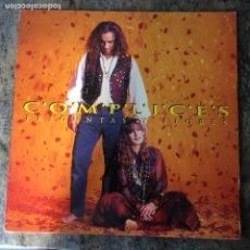 Discos de vinil: COMPLICES - PREGUNTAS Y FLORES . LP . 1993 RCA. Lote 293219243