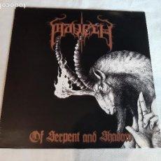 Discos de vinilo: MAVETH -OF SERPENT AND SHADOW- (2010) LP DISCO VINILO. Lote 293224463