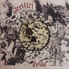 Discos de vinilo: SACRIFICI - CREDO 7'' SKINHEAD OI PUNK CATALUNYA. Lote 293226298