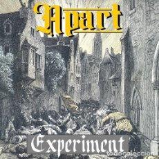 Discos de vinilo: APART - EXPERIMENT 7'' SKINHEAD OI PUNK. Lote 293226883