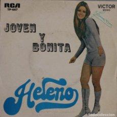 Discos de vinilo: HELENO//JOVEN Y BONITA+3//EP//1973//RCA PORTUGAL. Lote 293236023