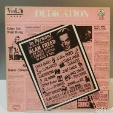 Discos de vinil: DISCO VINILO LP. THE FLAMINGOS, MAXIME BROWN, THE COLLEGIANS – DEDICATION VOL.5. 33 RPM.. Lote 293263953
