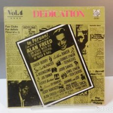 Discos de vinil: DISCO VINILO LP. THE FIVE SATINS, GUCHMAN & GOODMAN – DEDICATION VOL.4. 33 RPM.. Lote 293264948