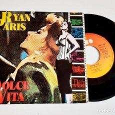 Discos de vinilo: DISCO VINILO 45 RPM RYAN PARIS. Lote 293272873