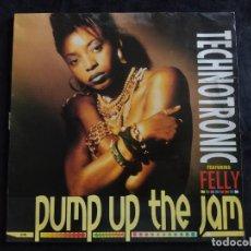 Discos de vinilo: TECHNOTRONIC - PUMP UP THE JAM - SINGLE - 1989 N.87. Lote 293274163