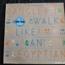 Discos de vinilo: BANGLES - WALK LIKE AN EGYPTIAN 1986 N. 109. Lote 293283298