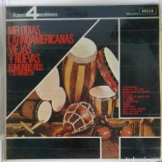 Discos de vinilo: MELODIAS LATINOAMERICANAS VIEJAS Y NUEVAS EDMUNDO ROS LP. Lote 293287708