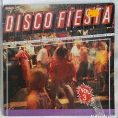 Discos de vinilo: DISCO FIESTA VOL. 3 LP. Lote 293288313