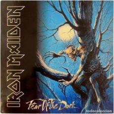 Discos de vinilo: IRON MAIDEN - FEAR OF THE DARK - 2 LP SPAIN 1992 - EMI 140 79 9161 1. Lote 293290338