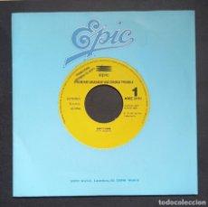 Discos de vinilo: STEVE RAY VAUGHANT - EMPTY ARMS - SINGLE PROMOCIONAL 1992 - EPIC. Lote 293291523