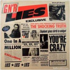 Discos de vinilo: GUNS N' ROSES - G N' R LIES - LP SPAIN 1991 - GEFFEN RECORDS 9241981. Lote 293292958