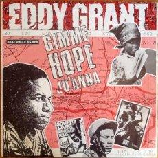 """Discos de vinilo: EDDY GRANT : GIMME HOPE JO'ANNA [ESP 1988] 12"""". Lote 293294333"""