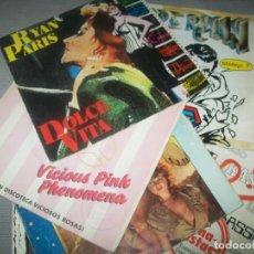 Discos de vinil: LOTE DE 6 - SINGLES DE MUSICA - ITALO - DANCE MUSICA DE DISCOTECA AÑOS 80 GRANDES EXITOS ITALO. Lote 293294678