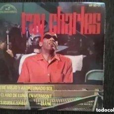 Discos de vinilo: RAY CHARLES - ESE VIEJO Y AFORTUNADO SOL (EP) 1963. Lote 293304798