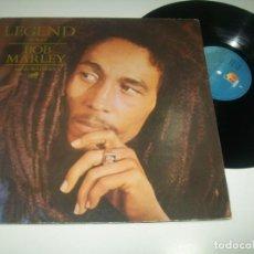 Dischi in vinile: BOB MARLEY AND THE WAILERS - LEGEND THE BEST.. LP DE 1984 - PORTADA ABIERTA - EDICION ESPAÑOLA. Lote 293305638